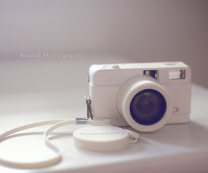 camera, white, and photography image
