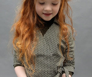 hair, redhead, and kids image