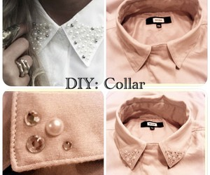 collar, diy, and girly image