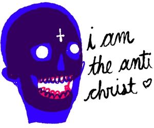 anitchrist, antichrist, and art image