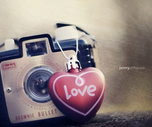 love, camera, and photo image