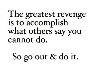 quote, revenge, and text image