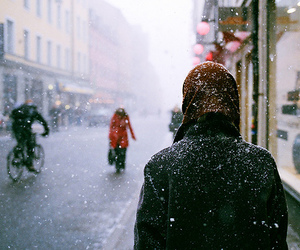snow, winter, and boy image