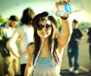 girl, water, and sierra kusterbeck image