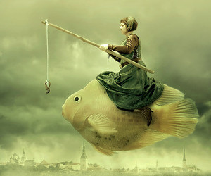 fish and art image