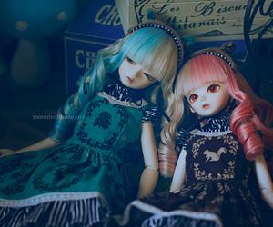 beautiful, bjd, and doll image