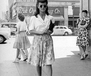 vintage, black and white, and retro image