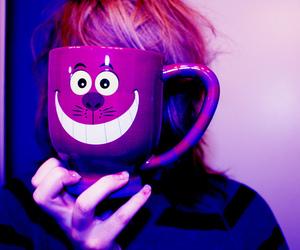 mug, purple, and alice in wonderland image