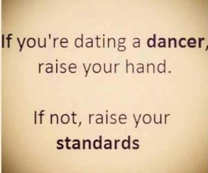 dance, dating, and standards image