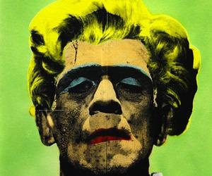 Frankenstein, Marilyn Monroe, and pop art image