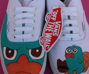 vans, perry, and shoes image