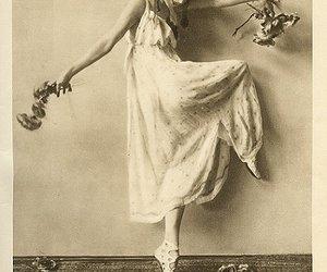 anna pavlova, art, and ballet image