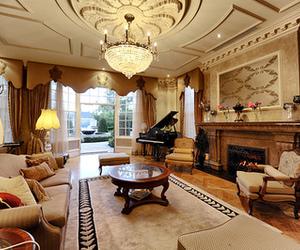 interior design, home, and pretty image