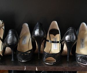 closet, Jimmy Choo, and shoes image
