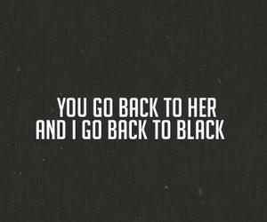 black, quotes, and sad image