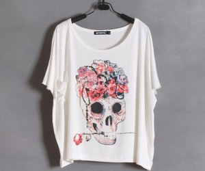fashion, loose, and froral skeleton image