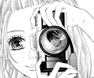 anime, manga, and camera image