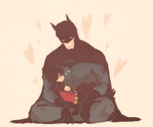 batman, bruce wayne, and dick grayson image
