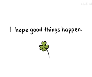 hope, quotes, and clover image