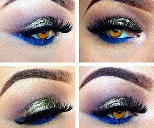 eyes and make up. image