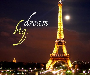 Dream, paris, and tower image