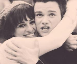 glee, hummelberry, and lea michele image