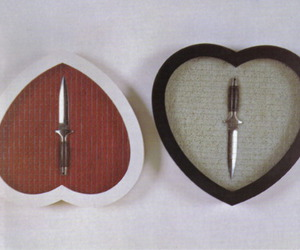 knife and red image