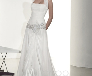 gown and wedding dress image