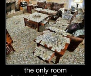 money, room, and clean image