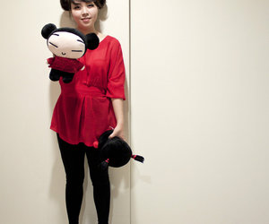 cosplay and pucca image