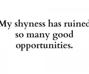 shyness, shy, and text image