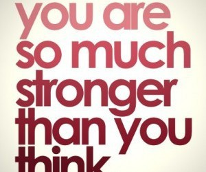 strong, quote, and you image