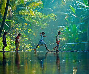 children, jungle, and photography image