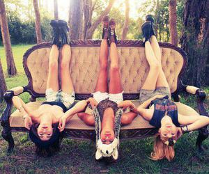 friends, girl, and crazy image