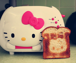 hello kitty and bread image