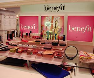 benefit, makeup, and pink image