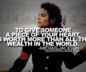 michael jackson and quote image