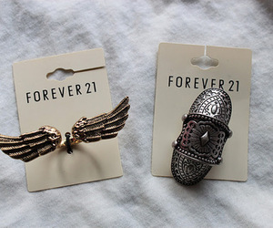 fashion, forever 21, and ring image