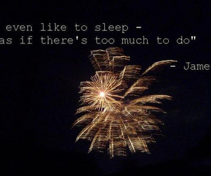 feel, firework, and sleep image