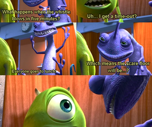 monsters inc, disney, and funny image