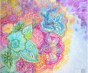 art, colorful, and cute image