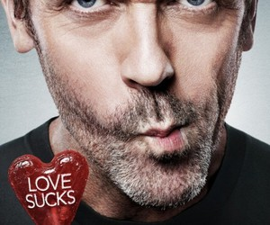 house, dr house, and love sucks image