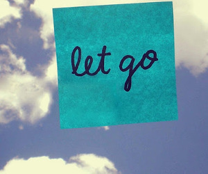 let go, sky, and blue image