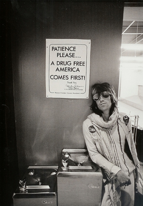 70s Airport Drugs Keith Richards Music Rock N Roll