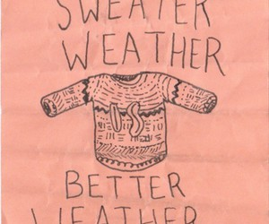 sweater, weather, and winter image