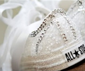 shoes, converse, and wedding image