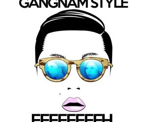 psy, gangnam style, and sexy lady image