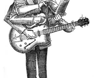 andrew bird, drawing, and music image