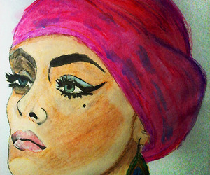 art, illustration, and color pencils image