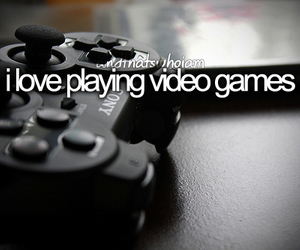 video games, love, and games image